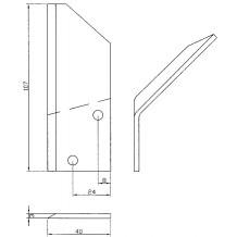 Nůž 154-093 Levý